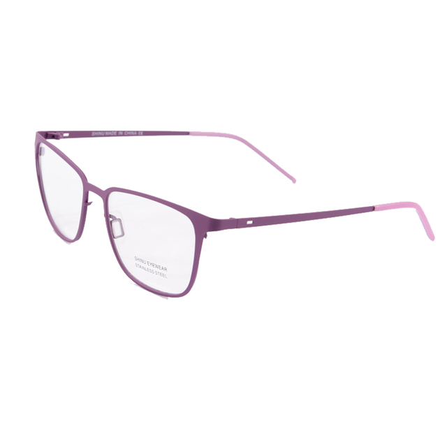 New  women eyeglasses frame black/blue/purple spectacle frames clear lense eyeglasses women oculos feminino de grau  1473