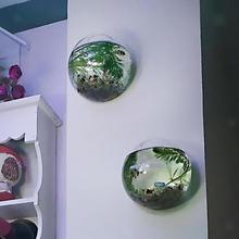 Ваза Террариум контейнер домашний сад шар Декор подвесной стеклянный цветок настенный вазон подвесное стекло для вазы отправить бесследный гвоздь
