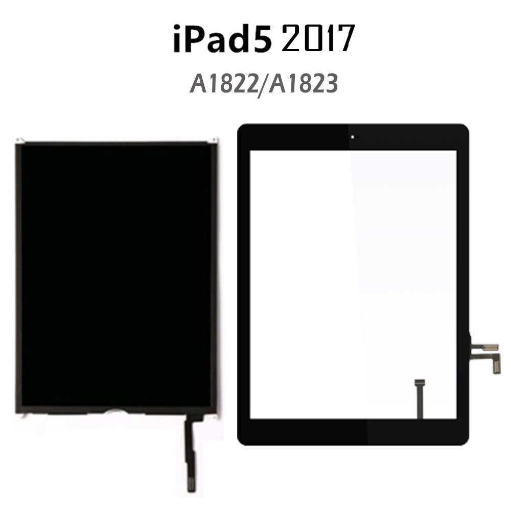 LCD Display Touch Screen Digitizer For Apple iPad 5th Gen 2017 A1822 A1823 9.7