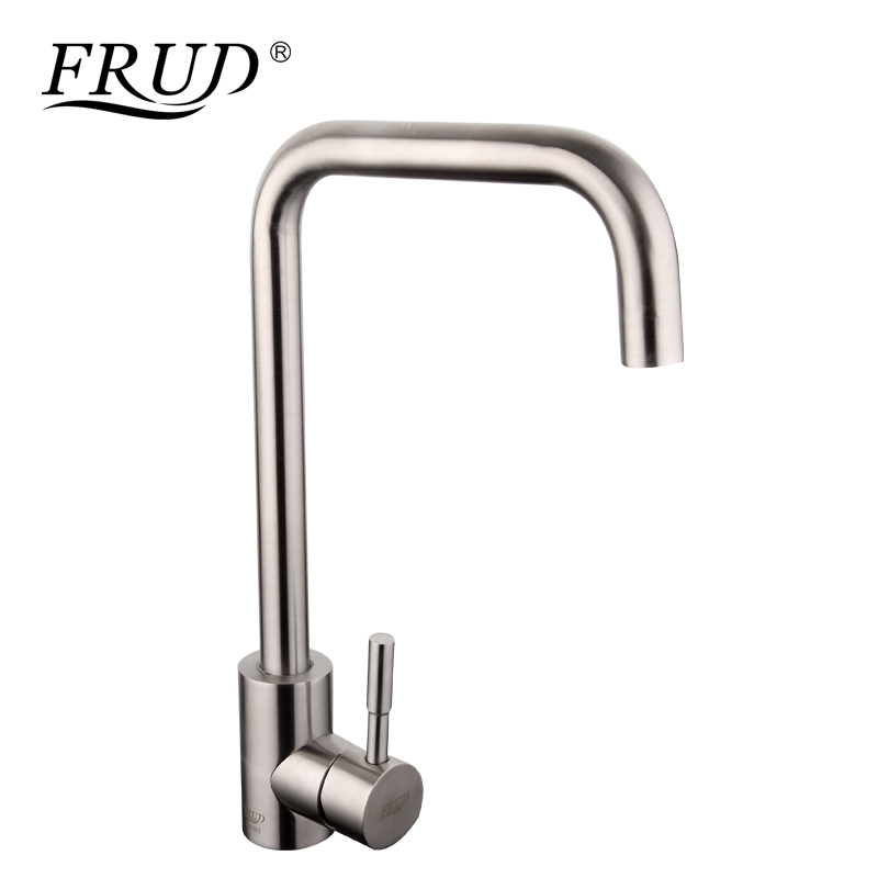 FRUD Hot Sale Stainless Steel Kitchen Faucets Mixer Drinking Water Faucet Sink Tap 360 Swivel Mixer Filter Taps torneira R40052FRUD Hot Sale Stainless Steel Kitchen Faucets Mixer Drinking Water Faucet Sink Tap 360 Swivel Mixer Filter Taps torneira R40052