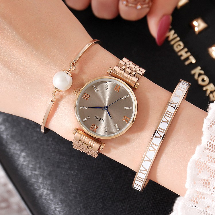 Relógios Top Marca de Luxo Ladies Quartz