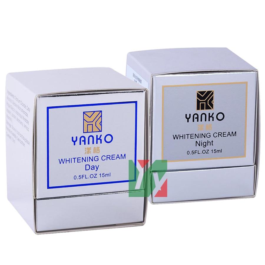 wholesale Yanko Skin Care whitening day cream+night cream seven generation