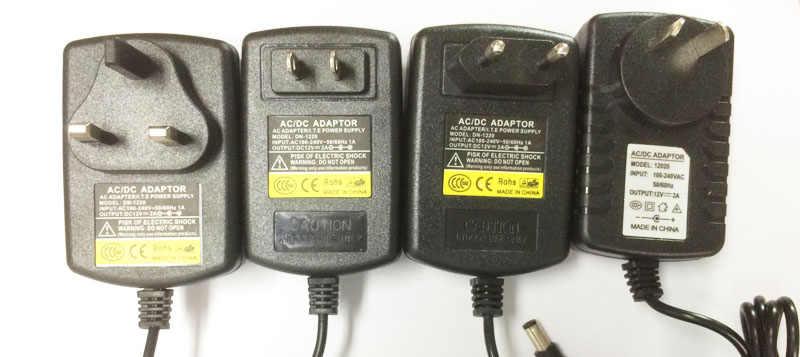 12 В 1.5A коммутации Питание адаптера постоянного Напряжение трансформатор для светодиодный полосы света ЕС/США/Великобритании/AU стандарт с штекер DC