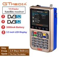 GTMEDIA/Freesat V8 Finder HD DVB-S2 Digital Satellite Finder High Definition Sat Finder DVB S2 Satellite Meter Satfinder 1080 P