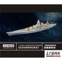 Assembly model Yingxiang model 1/700 Shane of Germany Khost Battlecruiser with Tamiya 77518