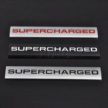 Car Sticker Emblem For Supercharged Land Rover Range Rover Sport Audi A4 A5 A6 Q3 Q5 VW