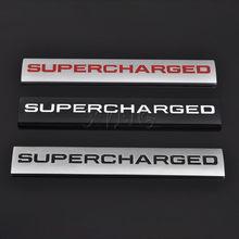 Etiqueta do carro emblema auto emblema decalque para supercharged land rover range rover sport audi a4 a5 a6 q3 q5 vw estilo do carro acessórios