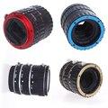 Ultramarino Estoque Andoer TTL Auto Focus AF Macro Tubo de Extensão de Metal anel da lente anel adaptador para canon eos ef ef-s-todas as lentes