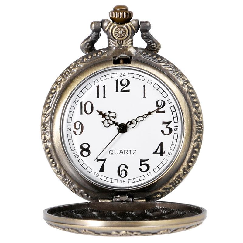Винтидж мед джобен часовник Алиса в - Джобни часовници - Снимка 6