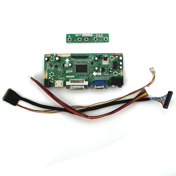 все цены на M.NT68676 LCD/LED Controller Driver Board(HDMI+VGA+DVI+Audio) For LTN101NT02 B101AW03 1024*600 LVDS Monitor Reuse Laptop онлайн