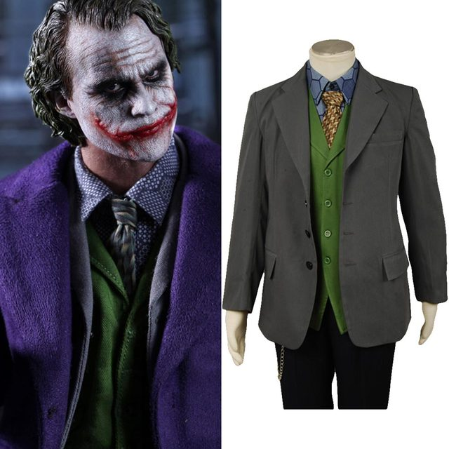 joekr blazer only cosplay costume batman dark knight joker costume for halloween carnival