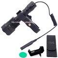1600lm Cree XP-L HI V3 LED Flashlight Hunting Flashlight C12 Torch Lamp Light+Remote switch+Gun mount+Holster+Charger+Green Lens
