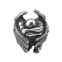 Angel Beads Antique 925 Sterling Silver Charms Fit DIY Woman Original European Style Bracelet & Necklace Gift Jewelry