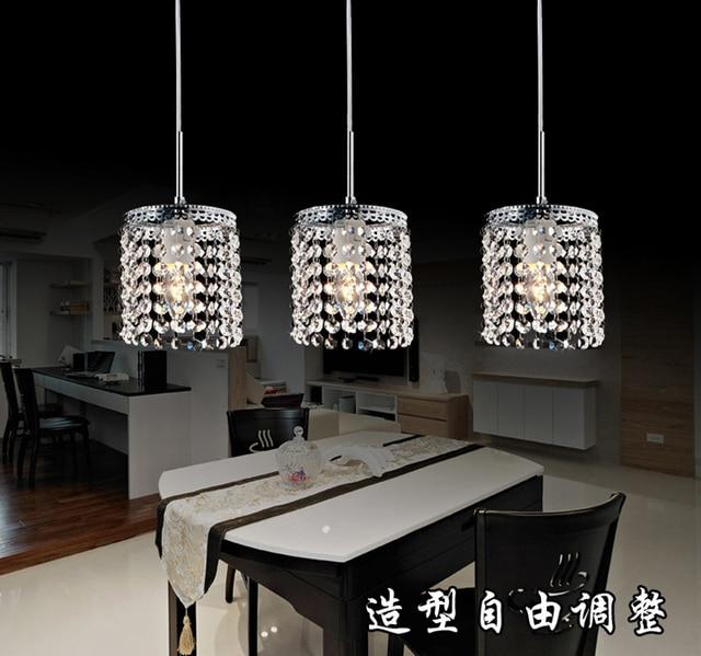 Aliexpress.com : Buy LED Linear Pendant Lamps crystal ...