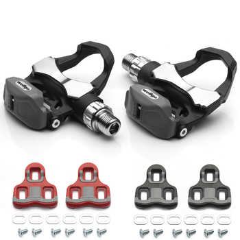 High Quality Wellgo R168 Carbon Bicycle Bike Pedal Cycling Lock Bicycle Pedals