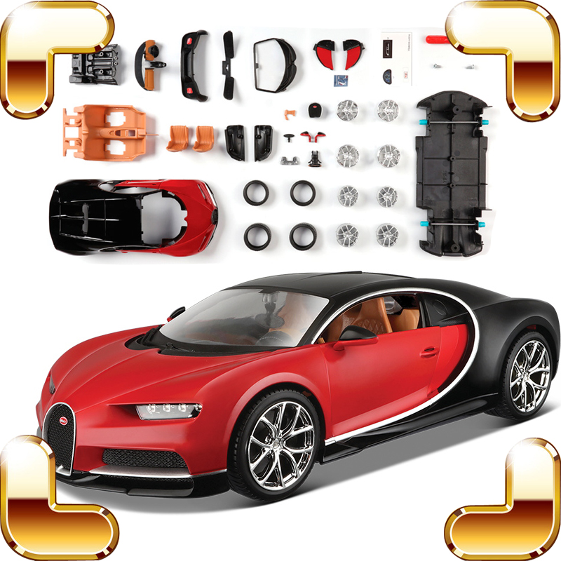 New Arrival Gift 1/24 Model Car Collection Toys DIY Assemble Game Toys Cars Decoration Alloy Metal Children Education Learning