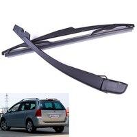 TOYL Brushes Wiper Blade Arm Black For Car Rear Bezel PEUGEOT 307 SW ESTATE 2000 To