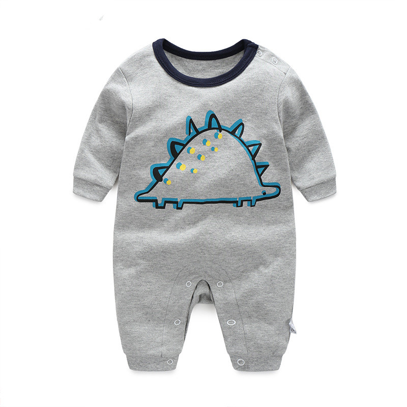 2016 Dinosaur 0-24M new babygirl boy romper clothes one-piece jumpsuit brand costume toddler suit infant clothing 100% Cotton