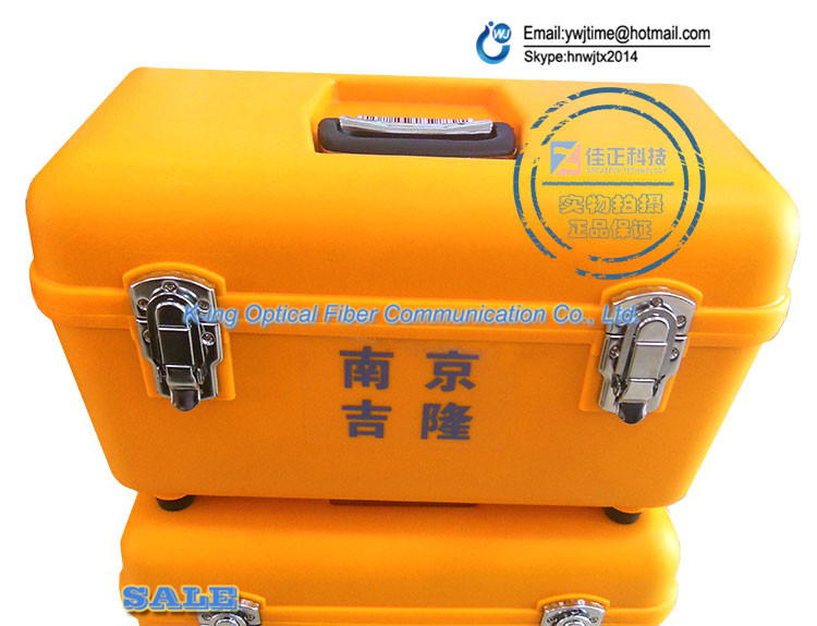 Original jilong KL-280 KL280G KL-300 fibre Fusion épisseuse étui de transport/Fiber optique soudage Machine cas/boîte