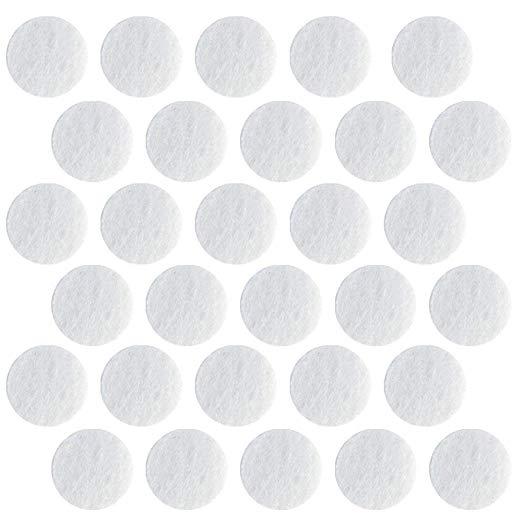 120PCS Filtros Microdermoabrasão Facial Microdermoabrasão Algodão Filtros De Substituição 10mm Diâmetro Filtros A Vácuo Acessórios