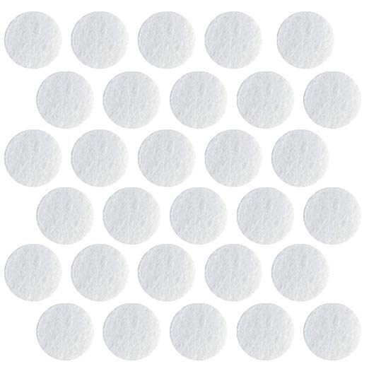 150PCS Microdermabrasion Cotton Filters Replacement 10mm Dia Microdermabrasion Filters Facial Vacuum Filters Accessories