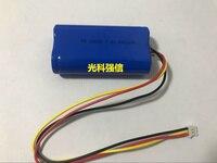 7.4v li po li ion batteries lithium polymer battery 7 4 v lipo li ion rechargeable lithium ion for 18650 4000MAH 7.4V three wire