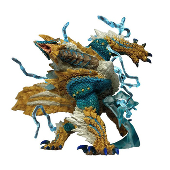 Monster Hunter World Generations Ultimate Zinogre Dragon Model Collections Monsters World Action Figure Toy Kids Christmas Gift 1 6 pl2016 85 female hunter huntress arhian full set action figure models collections