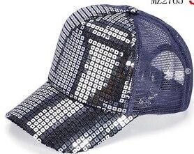 50 шт./лот Federal Express быстро в Корейском стиле повседневные платья Регулируемый блестками Бейсбол Кепки для мальчиков и девочек спортивная шапочка - Цвет: 4