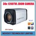 "Free Shipping 1/3"" 0130 CMOS 1200TVL 30x Optical 3~90mm Varifocal Lens  HLC DNR Security CCTV Zoom Camera"