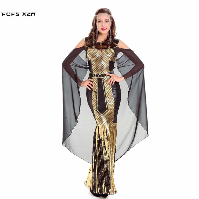 New Woman Greek Mythology Goddess Athena Costumes Female Halloween Queen Cleopatra Cosplay Carnival Purim Masquerade Party Dress Masquerade Party Dresses Cleopatra Dresshalloween Costumes Dresses Aliexpress