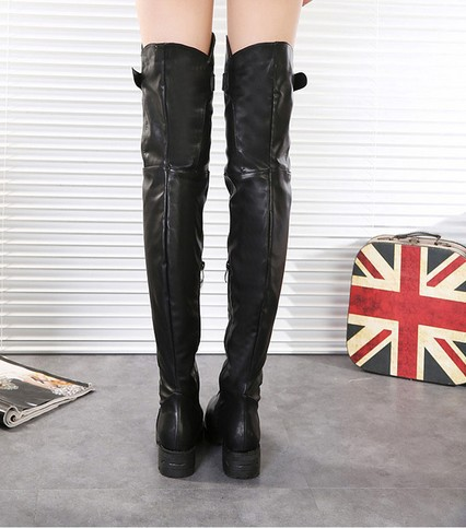 Aliexpress.com : Buy Thigh High Boots For Women 2014 Black boots ...