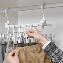 Волшебная ткань Вешалки подвесной цепной реечный стеллаж крюк органайзер для шкафа, гардероба Пластик одежда Спальня аксессуары Экономия пространства Костюмы