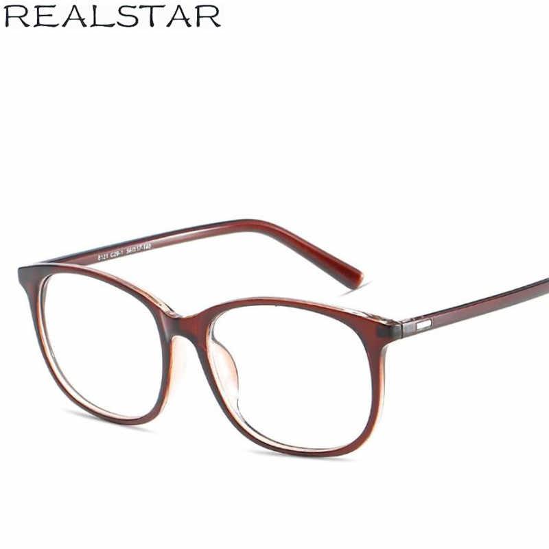 a71feac38e REALSTAR 2018 Vintage Square Eyeglasses Frames Women Myopia Eye Glasses  Optical Frame Mens Eyewear Fashion Glasses Oculos S290