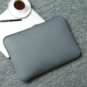 """Image 5 - Laptop caso notebook Computador de Bolso Dos Homens Das Mulheres de manga comprida 11 """"12"""" 13 """"15"""" 15.6 """"para Macbook pro Ar Retina Carry para Xiaomi Lenovo 14"""