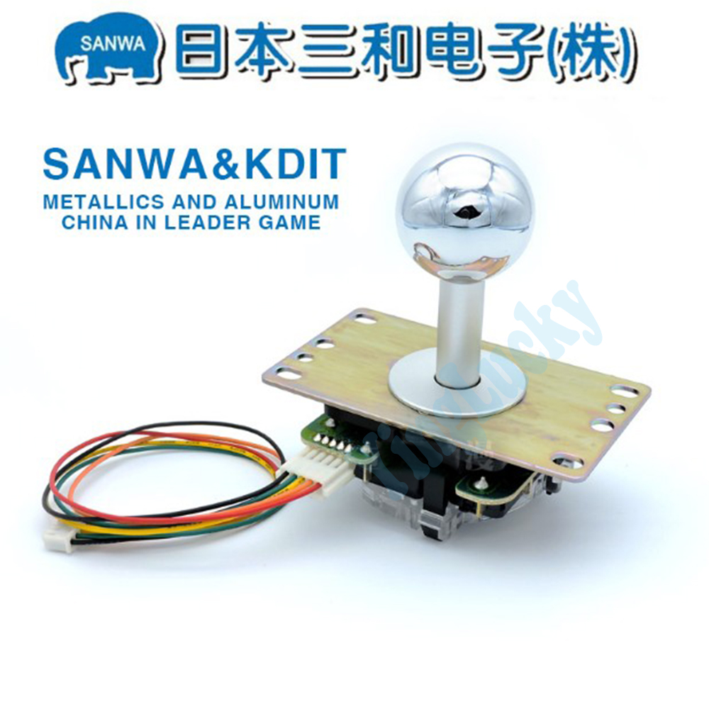Sanwa joystick JLF-TP OBSF-30 arcade joystick kit KDIT SANWA VEWLIX HORI For the Raspberry Pi Pandora box(China)