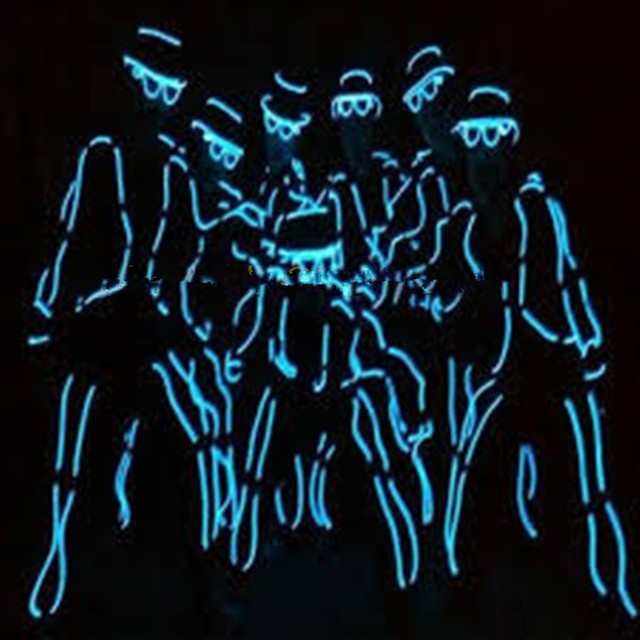 Cool LED Stage Wear Cosplay Novel Glowing Clothes Stylish Monks ...
