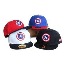 Snapback Caps kids Birthday Gift Cap The Avengers party supplies Captain America Adjustable Bone Snapback Casquette Hat printio pornhub snapback