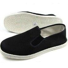 Tai  ji Chinese Kung Fu Hand-stitched Cotton Cloth Shoes Traditional Kung Fu Taichi Wing Chun Footwear