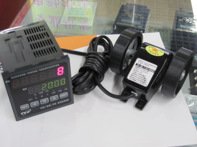 High Precision Electronic Digital Display Meter Counter CE7-P61A Meter Wheel LK-80 Sensor