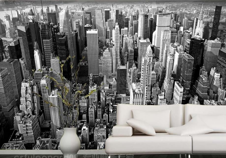 Custom 3d new york city building 3d mural backdrop wallpaper living custom 3d new york city building 3d mural backdrop wallpaper living room bedroom non woven 3d wall murals wallpaper in wallpapers from home improvement on voltagebd Gallery