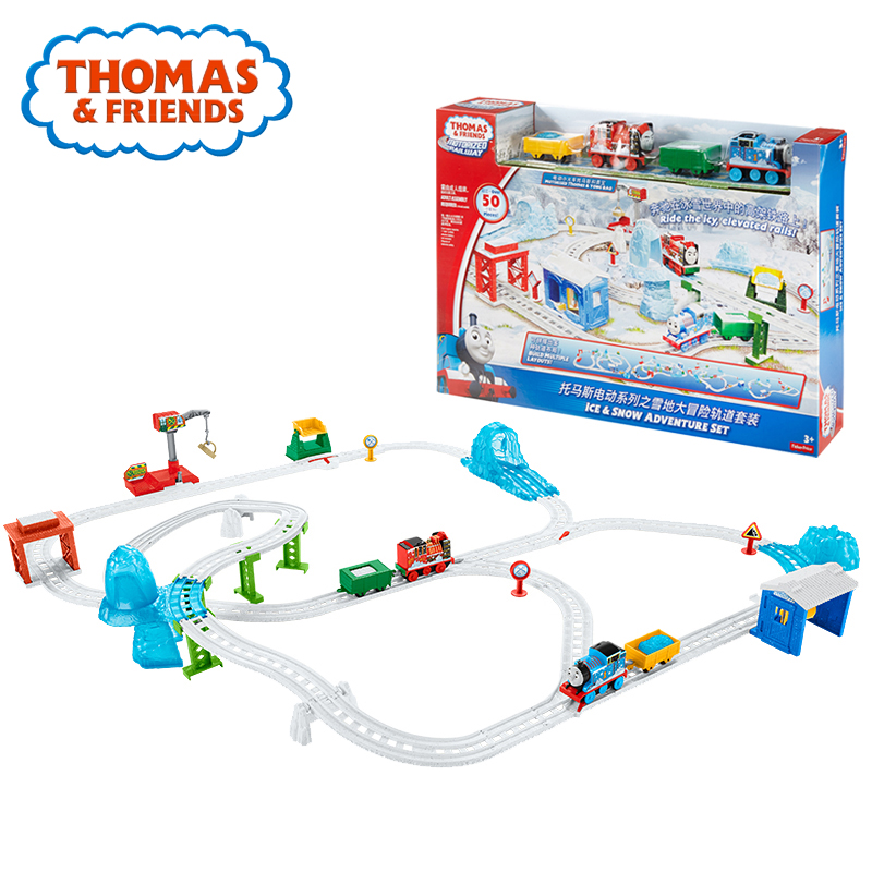 Thomas and Friends Electric Train Toy for Children Plastic Railway Building Track Car Toy Collection Train Thomas DHC78