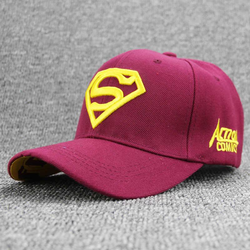 2018 Brand Superman Hat Casquette Snapbacks Baseball Caps Hats for Men Bone  Diamond Snapback caps For f643ab341a3c