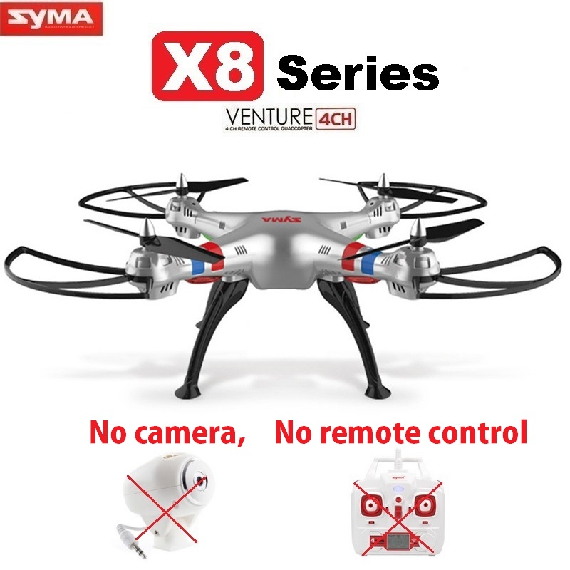 все цены на SYMA X8C X8W X8G X8HW X8HG 2.4G 4CH 6Axis Big Size RC Drone Quadcopter Helicopter Without Camera and Remote Control