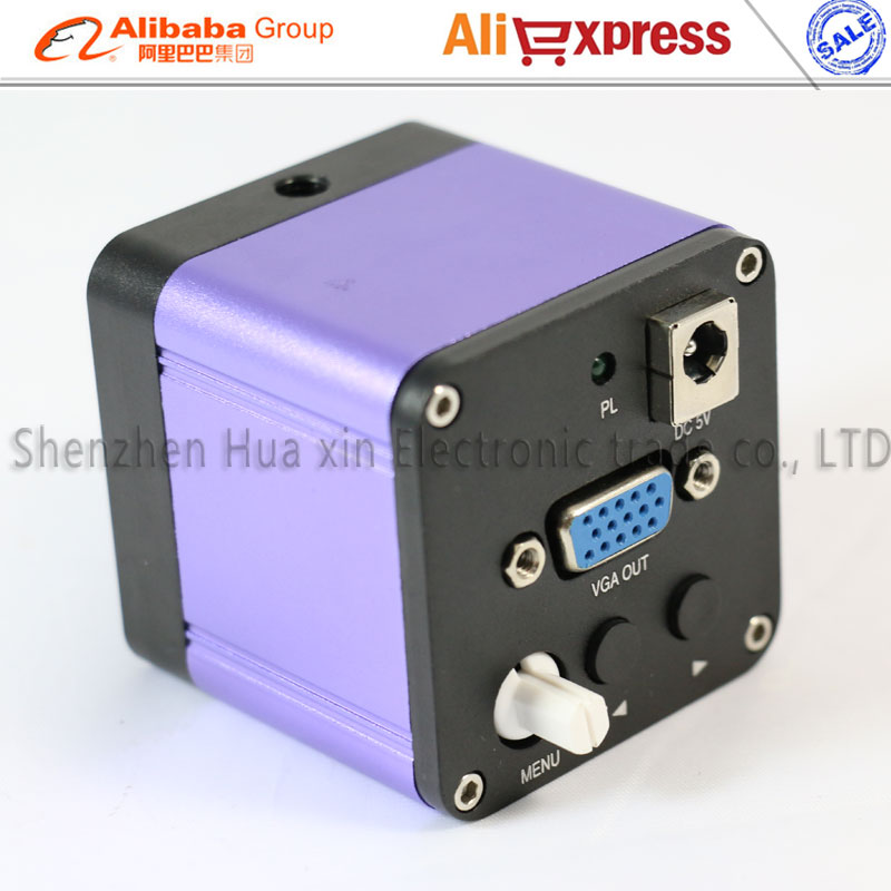 Free shipping VGA outputs Industry Microscope 60 fps/sec 1080P high-speed Video microscope for BGA PCB repair Liberation eyes