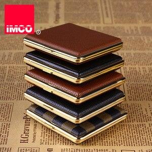 Image 3 - IMCO 원래 담배 케이스 시가 상자 정품 가죽 담배 홀더 포켓 스토리지 컨테이너 흡연 담배 액세서리