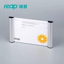 5-pack Reap 3116 sonic aluminium A5 landscape indoor Horizontal Wall Mount Sign Holder display INFO poster door sign