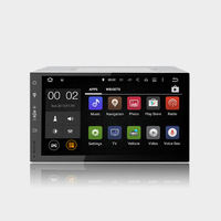 7 2din Android5 1 1 Quad Core RK 3188 1 6GHz Universal Car GPS With Built