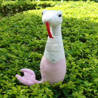 cute creative plush beauty snake toy soft pink snake toy gift toy about 35cm