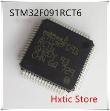 5PCS/LOT STM32F091RCT6 STM32F091 RCT6 LQFP-64