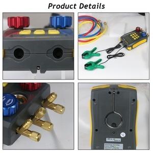 Image 4 - Autool LM120 + Airconditioning Spruitstuk Digitale Vacuum Gauge Voor Koeling Hvac Vacuüm Druk Temperatuur Tester Pk Testo